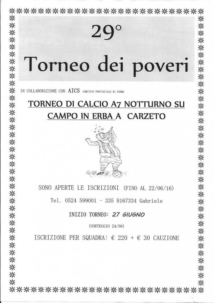 torneo dei poveri